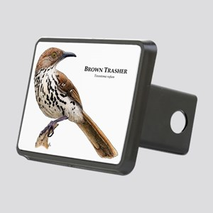 Brown Thrasher Rectangular Hitch Coverle)